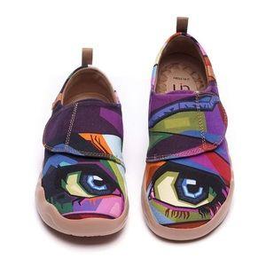 UIN Footwear LOOKING AT YOU Modern Art Kid Shoe